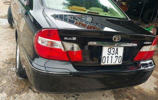 Bán xe Toyota Camry đời 2002, màu đen 7