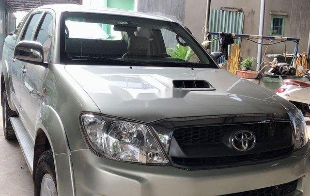 Cần bán lại xe Toyota Hilux năm 2010, nhập khẩu nguyên chiếc còn mới1
