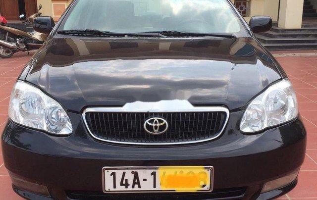 Cần bán xe Toyota Corolla Altis năm sản xuất 2003, màu đen, nhập khẩu nguyên chiếc, 168 triệu2
