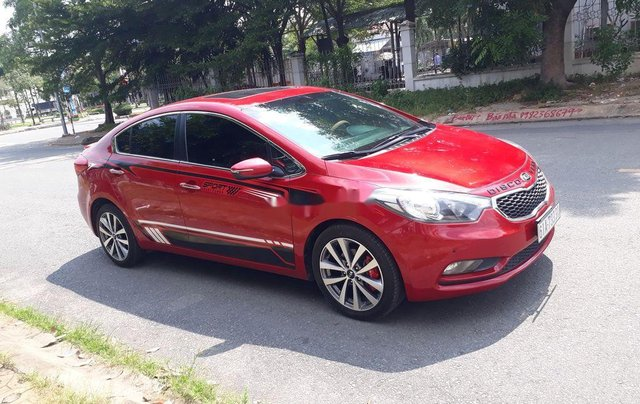 Bán xe Kia K3 sản xuất năm 2014, màu đỏ như mới1