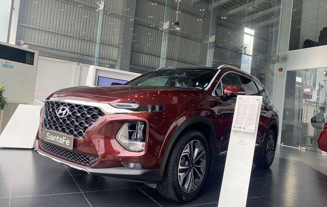 Bán ô tô Hyundai Santa Fe sản xuất năm 2020, màu đỏ4
