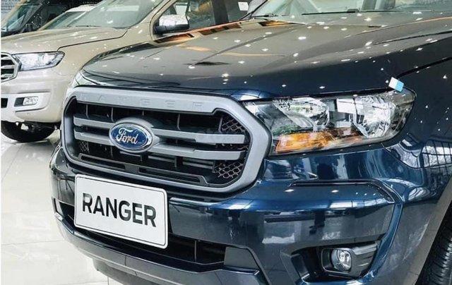 Ranger XLS 2020 màu xanh lam, nhập khẩu2