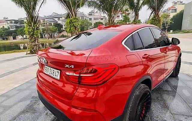Cần bán BMW X4 đời 2014, màu đỏ, nhập khẩu2