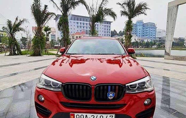 Cần bán BMW X4 đời 2014, màu đỏ, nhập khẩu0