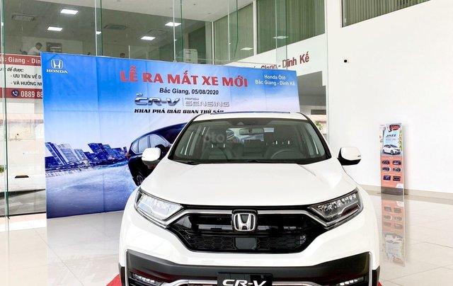 [Siêu ưu đãi] Honda CRV 2021 nâng cấp đáng giá - giảm tiền mặt cực khủng - hàng loạt phụ kiện chính hãng- trả góp 80% xe2