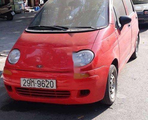Bán Daewoo Matiz năm sản xuất 2001, màu đỏ, giá 48tr1