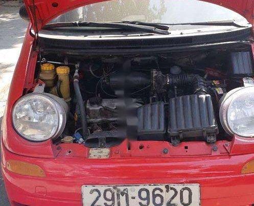 Bán Daewoo Matiz năm sản xuất 2001, màu đỏ, giá 48tr2