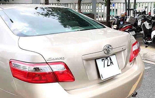 Bán ô tô Toyota Camry năm 2008, màu vàng, nhập khẩu2