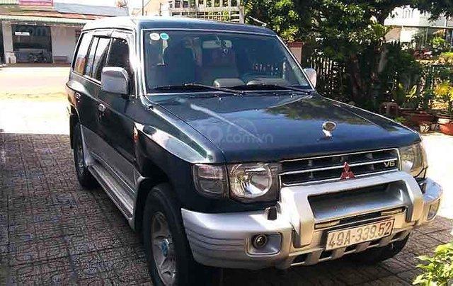 Bán Mitsubishi Pajero năm sản xuất 2004, màu xanh, xe gia đình 0