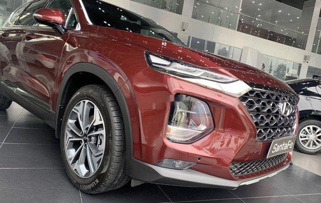 Bán ô tô Hyundai Santa Fe sản xuất năm 2020, màu đỏ1