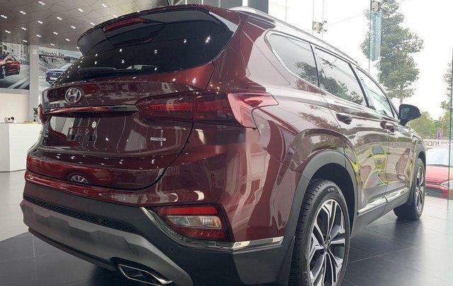 Bán ô tô Hyundai Santa Fe sản xuất năm 2020, màu đỏ3