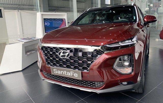 Bán ô tô Hyundai Santa Fe sản xuất năm 2020, màu đỏ2