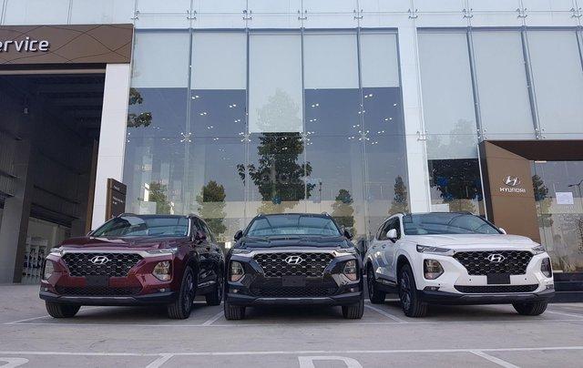 Bán Hyundai Santa Fe đời 2020, màu đen1