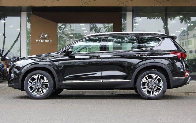 Bán Hyundai Santa Fe đời 2020, màu đen0