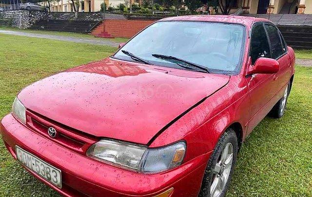 Cần bán Toyota Corolla năm sản xuất 1994, màu đỏ, nhập khẩu nguyên chiếc còn mới, 94tr0