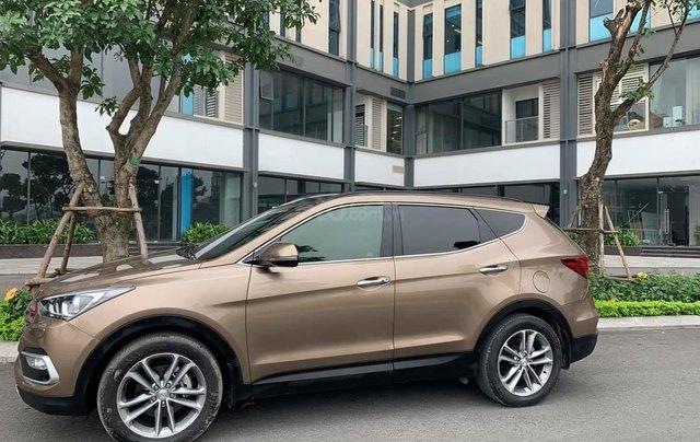 Cần bán Hyundai Santa Fe 2017 bản full xăng1