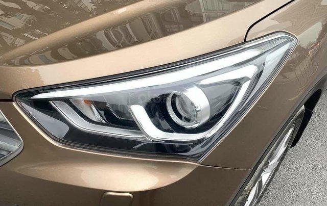 Cần bán Hyundai Santa Fe 2017 bản full xăng4