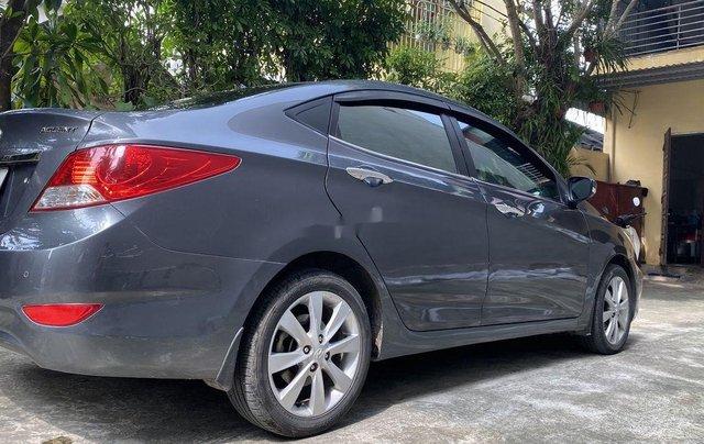Chính chủ bán Hyundai Accent đời 2013, màu xám, xe nhập1