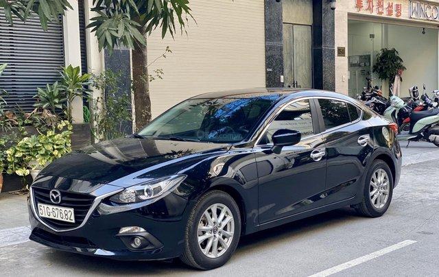 Mazda 3 15G AT SD màu đen sản xuất năm 20160