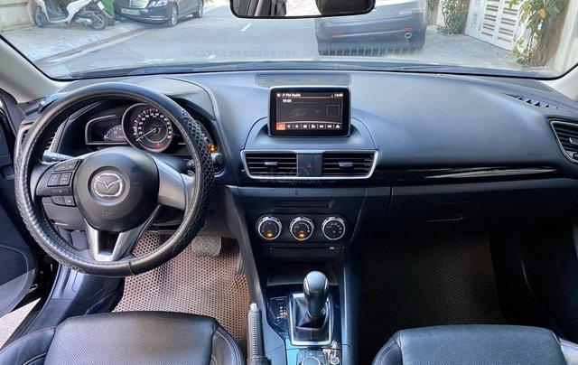 Mazda 3 15G AT SD màu đen sản xuất năm 20165
