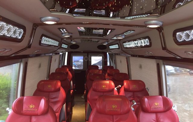 Bán xe Fuso Limousine DCar 2016 độ 19 ghế4