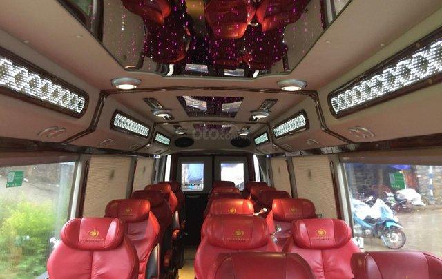 Bán xe Fuso Limousine DCar 2016 độ 19 ghế9
