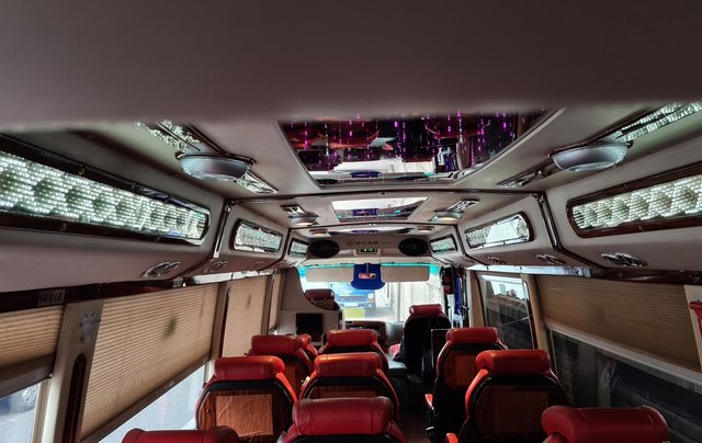 Bán xe Fuso Limousine DCar 2016 độ 19 ghế8