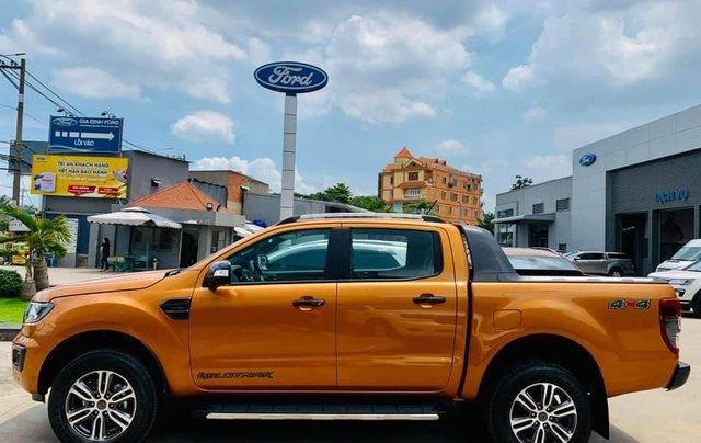 Ford Ranger Wildtrak - chiếc bán tải với công nghệ SUV cao cấp1