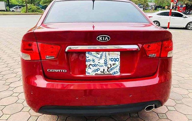 Cần bán gấp Kia Cerato năm 2010, màu đỏ, xe nhập, số tự động4