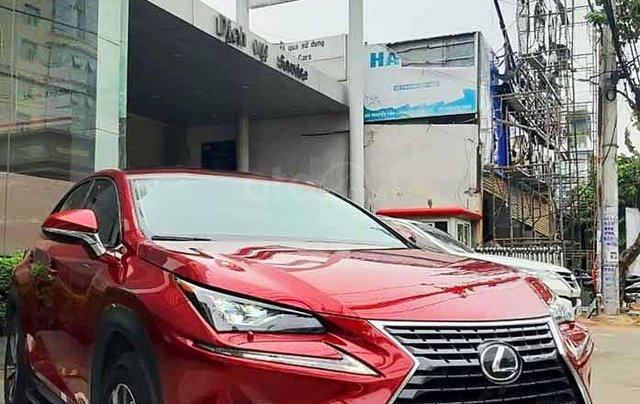 Cần bán xe Lexus NX300 năm sản xuất 2018, màu đỏ, xe nhập2