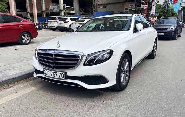 Bán Mercedes E200 năm sản xuất 2018, màu trắng, nhập khẩu0
