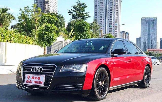 Bán Audi A8 năm sản xuất 2011, màu đen, nhập khẩu0