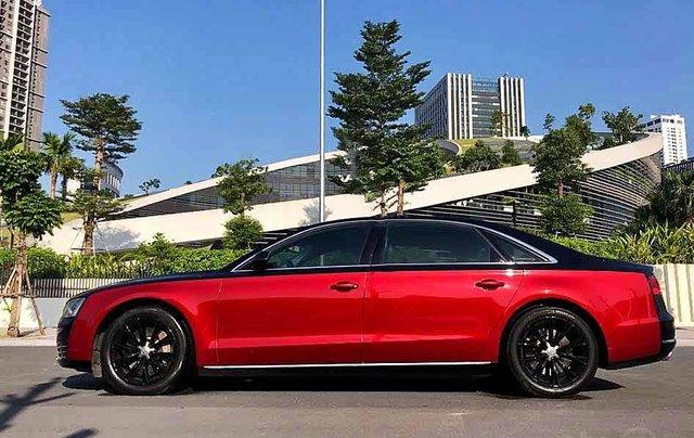 Bán Audi A8 năm sản xuất 2011, màu đen, nhập khẩu4