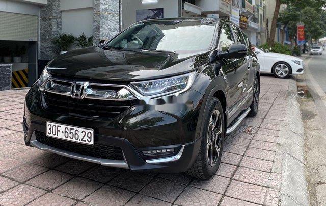 Cần bán gấp Honda CR V 2019, màu đen chính chủ2