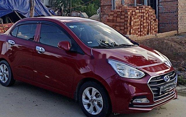 Cần bán lại xe Hyundai Grand i10 sản xuất năm 2018, màu đỏ 1