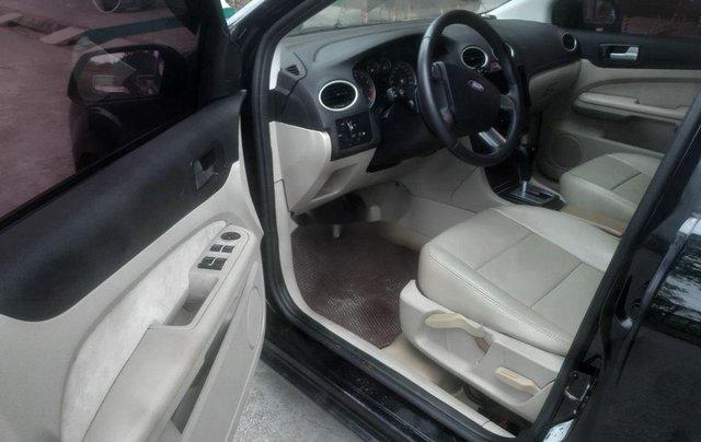 Cần bán lại xe Ford Focus sản xuất năm 2005, màu đen, xe nhập số tự động, giá tốt8