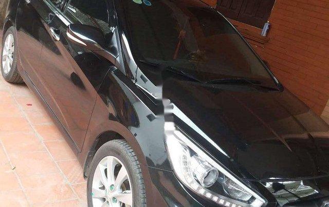 Bán Hyundai Accent đời 2017, màu đen, xe nhập0