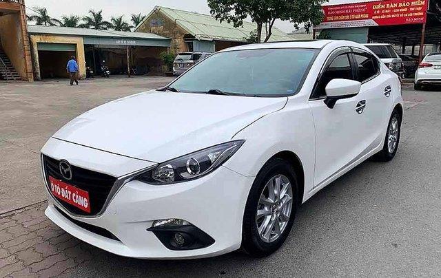 Bán ô tô Mazda 3 năm 2016, màu trắng, giá cạnh tranh0