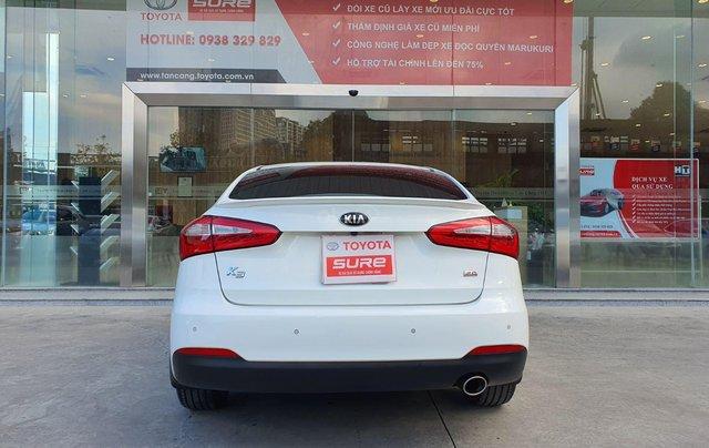 Cần bán xe Kia K3 2.0AT 2014 màu trắng gia đình BS Đồng Nai đi 82.888km - xe cũ chính hãng giá tốt3