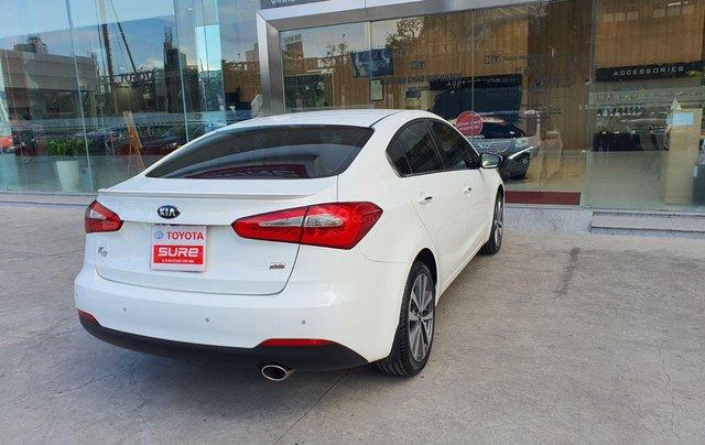 Cần bán xe Kia K3 2.0AT 2014 màu trắng gia đình BS Đồng Nai đi 82.888km - xe cũ chính hãng giá tốt5