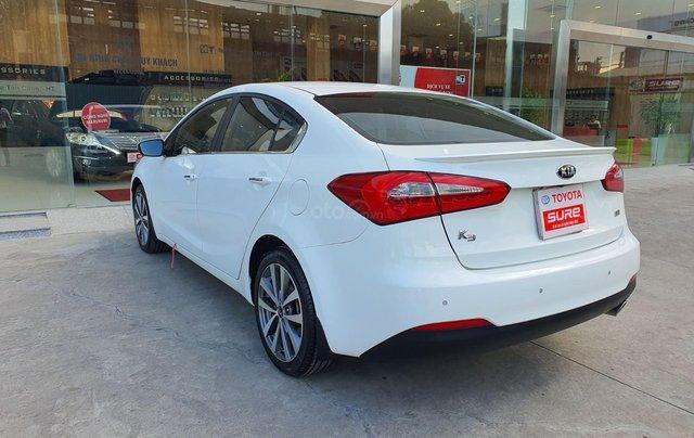 Cần bán xe Kia K3 2.0AT 2014 màu trắng gia đình BS Đồng Nai đi 82.888km - xe cũ chính hãng giá tốt4