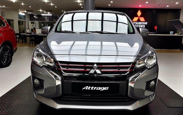 Mitsubishi Attrage giảm giá 23 triệu, quà tặng hấp dẫn, thủ tục vay nhanh chóng, giao xe ngay0
