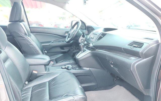 Bán xe Honda CR V 2013, màu nâu hồng14