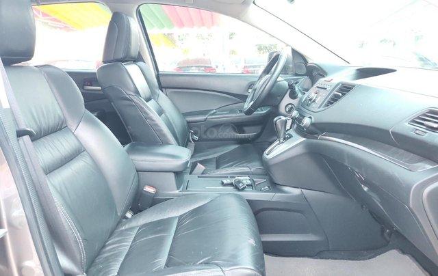 Bán xe Honda CR V 2013, màu nâu hồng13