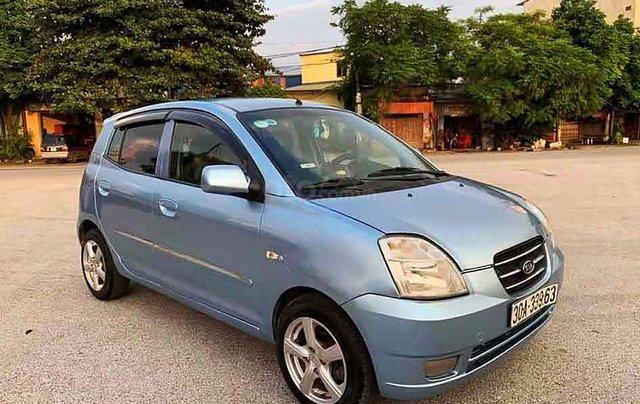 Cần bán lại xe Kia Morning đời 2007, màu xanh lam, nhập khẩu nguyên chiếc0