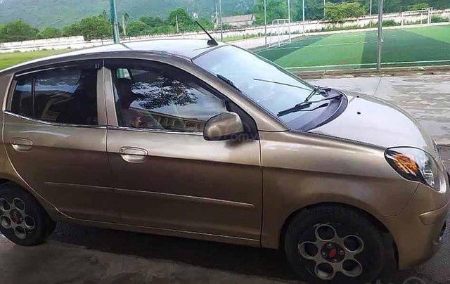 Cần bán xe Kia Morning LX 1.1 MT sản xuất năm 2011, màu vàng0