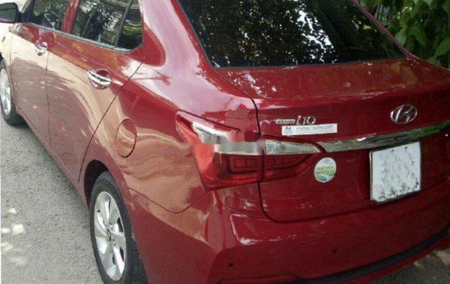 Cần bán lại xe Hyundai Grand i10 sản xuất năm 2018, màu đỏ 0