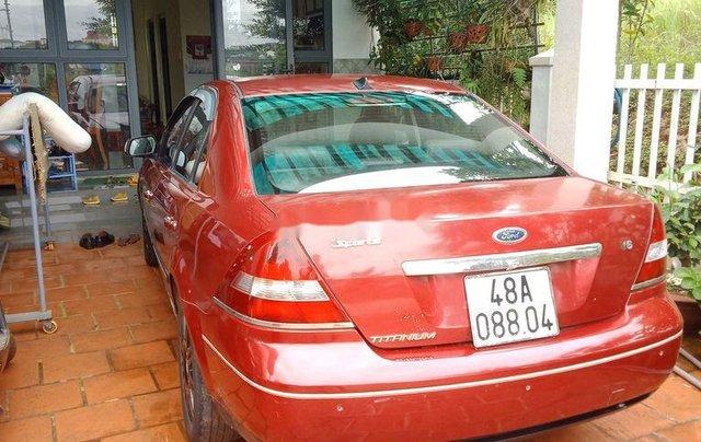 Bán Ford Mondeo sản xuất 2004, màu đỏ 2