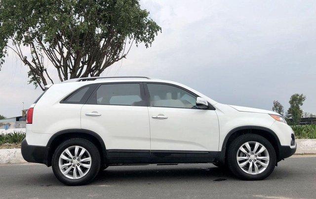 Bán Kia Sorento sản xuất năm 2012, màu trắng còn mới 5