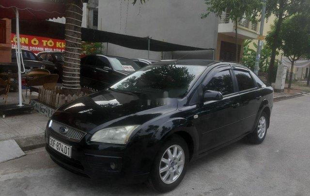 Cần bán lại xe Ford Focus sản xuất năm 2005, màu đen, xe nhập số tự động, giá tốt2